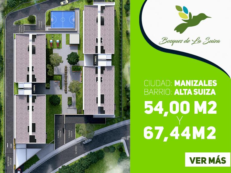 Apartamentos nuevos en manizales